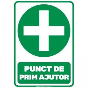 Indicator autocolant - Punct de Prim Ajutor - A5