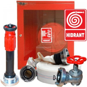 Cutie hidrant complet echipata (cutie hidrant