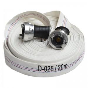 Furtun PSI tip D (1 tol) echipat cu racorduri - 16 bar