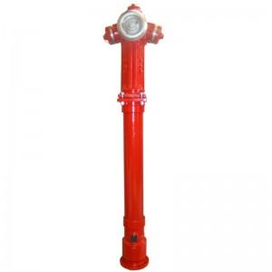 Hidrant suprateran cu protectie la rupere si inchidere dubla (antieruptie)