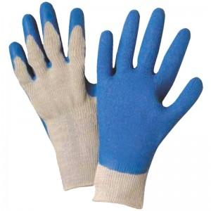 Manusi aderente bumbac - latex palma si degete