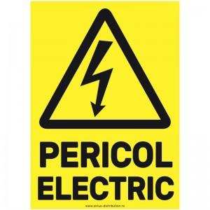 Indicator autocolant - Pericol Electric - A5