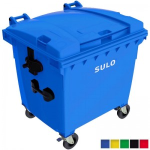 Eurocontainer plastic pentru gunoi