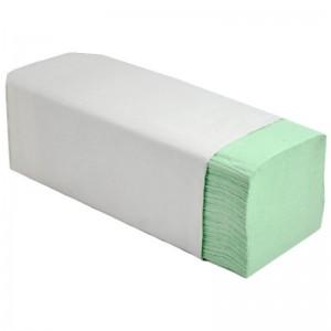 Prosop hartie ZZ verde (250 buc/set)