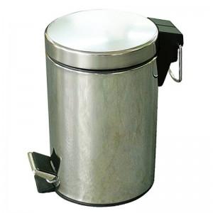 Cos de gunoi metalic cu pedala Prominox 3L