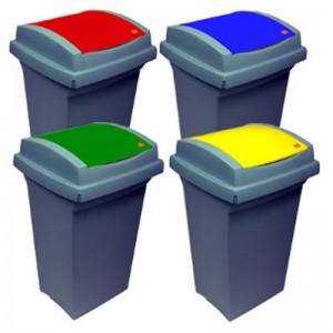 Cos de gunoi TATA 50 litri cu capac fix