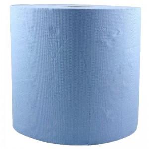 Rola prosop hartie albastra