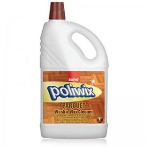 Detergent pardoseli cu ceara naturala Sano Poliwix Parquet (1L)