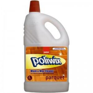 Detergent pardoseli cu ceara naturala Sano Poliwix Parquet (2L)