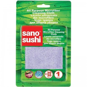 Laveta de curatare microfibra Sano Sushi 30X30 (1 buc)