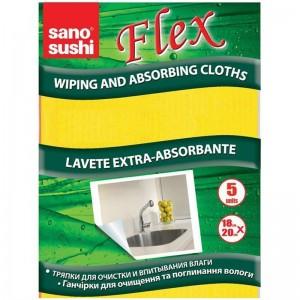 Lavete universale umede Sano Sushi Flex (5 buc)
