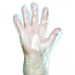 Manusi polietilena transparente L