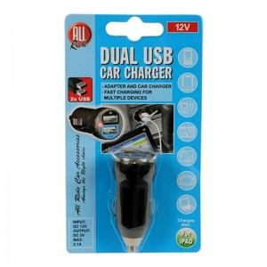 Incarcator USB dublu 2.1A/1A