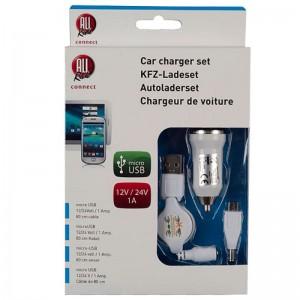 Set incarcator micro USB 1a