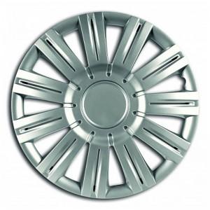 Set capace roata traffic silver 15