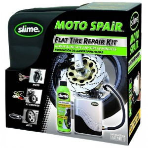 Slime pachet repair moto 237ml cu compresor