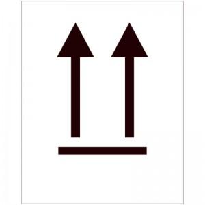 Eticheta ADR autocolanta Manevrare pe verticala clasa 11a (300x300mm)