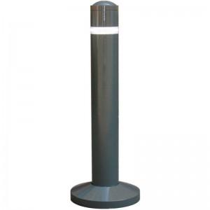 Stalp metalic pentru delimitare trafic auto-pietonal