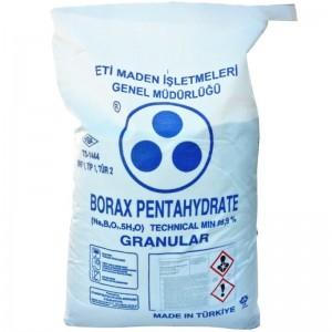Borax pentahidrat sac 25 kg