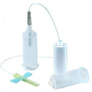 Adaptor de recoltare sange pentru vacutainer cu adaptor Luer Lock (100 buc)