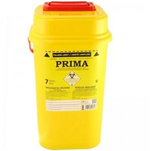 Recipient 7 litri plastic deseuri intepatoare taioase