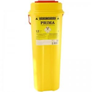 Recipient 12 litri plastic deseuri intepatoare taioase