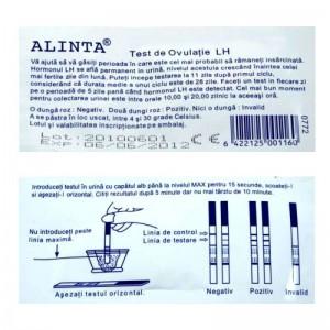 Test ovulatie LH urina