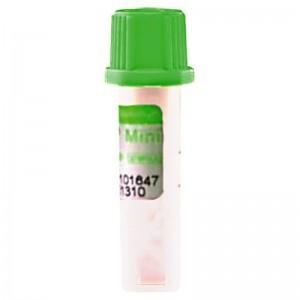 Microtainer cu Litiu Heparina capac verde