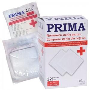 Comprese sterile PPSB pliate in 8