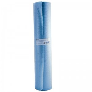 Cearceaf polietilena (PE) + hartie 60cmx50m 130foi x 38.5cm 100% celuloza