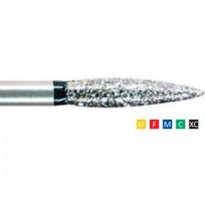 Freze Diamantate Flame 249 F 010/012/014/016(1/10mm)