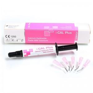 Hidroxid de calciu cu iodoform - 1 seringa (3gr) si 5 varfuri - I-Cal PLus (1 set)