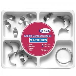 Matrici sectionale conturate metalice asortate + inel (mici