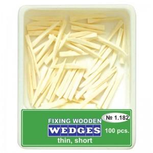 Pene interdentare din lemn (100 buc)