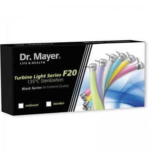 Turbina colorata F20 green Dr.Mayer - BORDEN / MIDWEST
