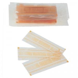 Benzi de ceara rece pentru buze - mustata (6 buc/cutie)