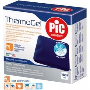 Compresa reutilizabila Thermogel pentru terapie calda/rece - PiC Solution (10x10cm)