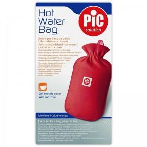 Plosca (perna) pentru apa calda din cauciuc cu husa de protectie 2l - PiC Solution (1 buc)